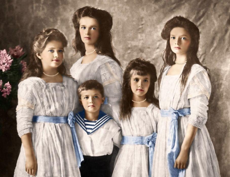 дома семья романовых фото и имена это