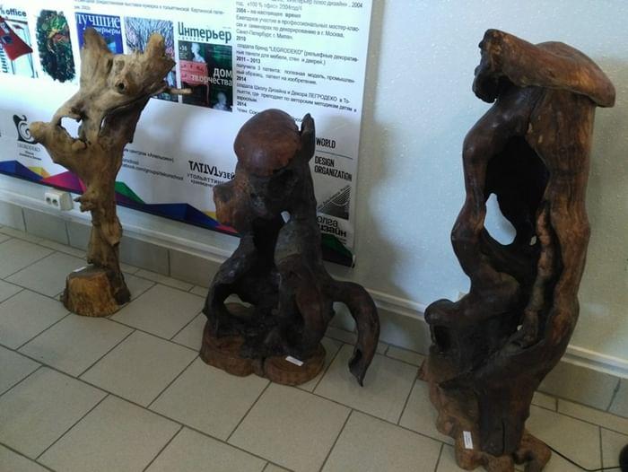 Выставка «Экологические сказки Олега Обрубова»