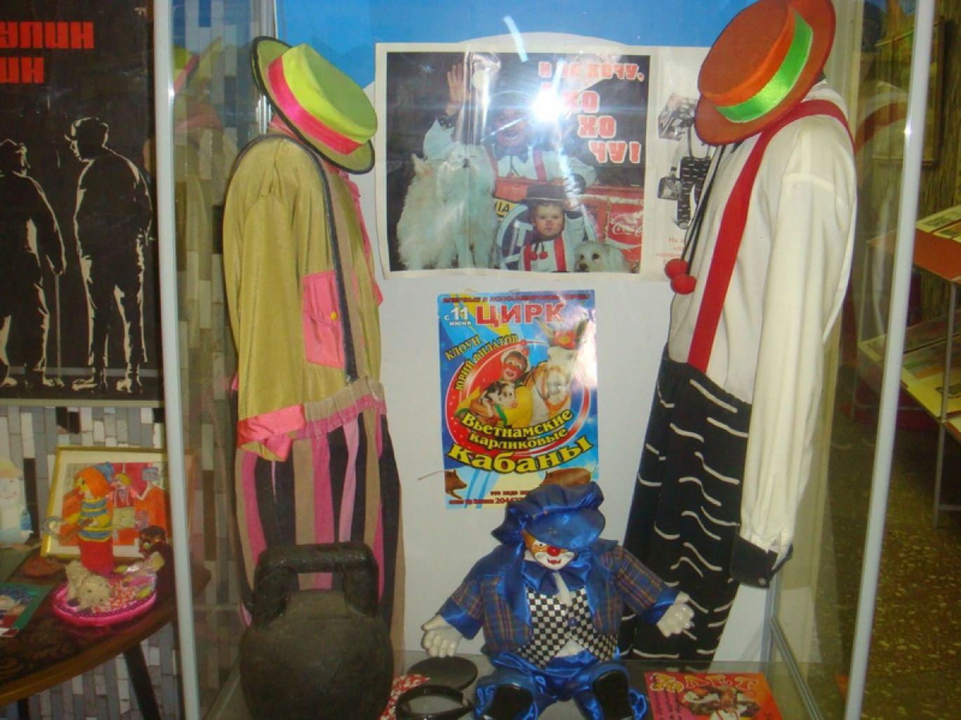 Экспонат Музея циркового искусства Пермского государственного цирка. Фотография: terra-z.com
