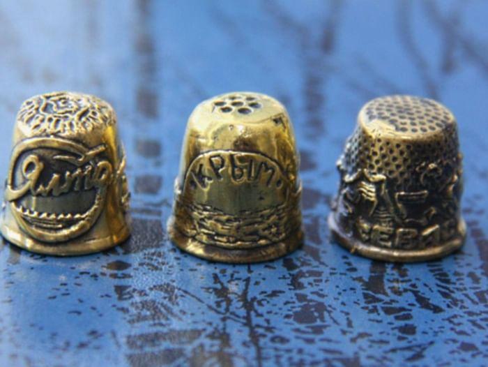Выставка коллекции «Золотой наперсток»