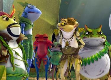 Показ мультфильма «Принцесса-лягушка» 3D
