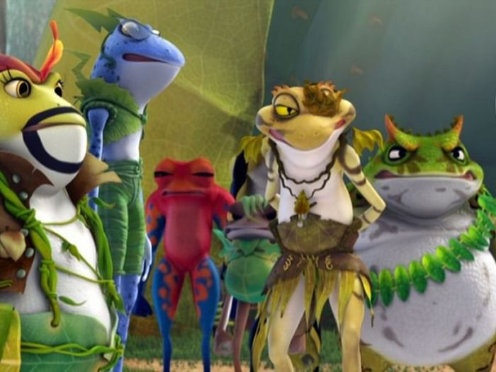 Показ мультфильма «Принцесса-лягушка»