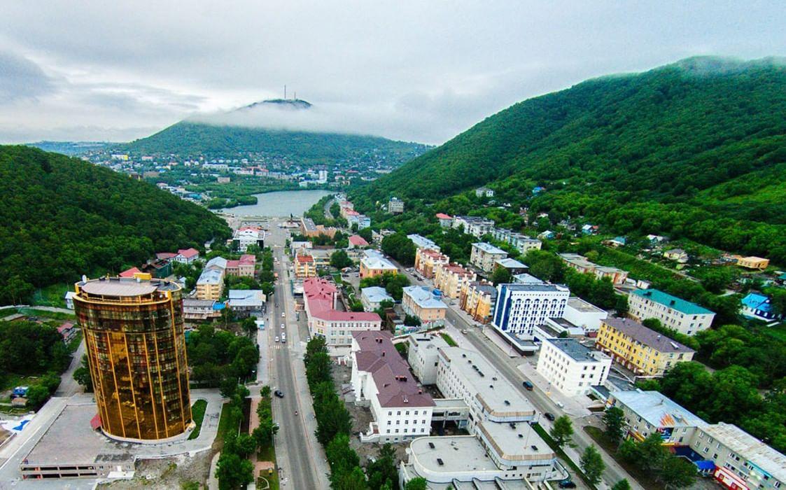 Город петропавловск-камчатский фото