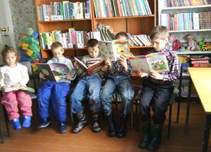 Библиотека-филиал п. Кирзавод