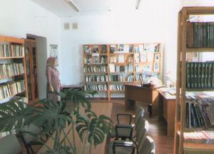 Сельская библиотека с. Агишты