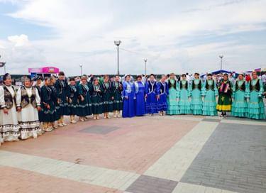 VIII Всероссийский сельский Сабантуй − 2017