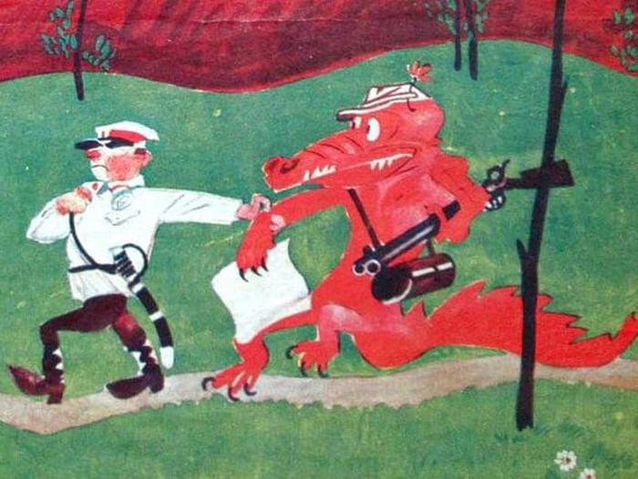 Выставка «Журнал «Крокодил» (1922–2000): юбилейная летопись»