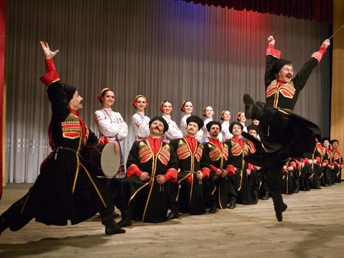 Концерт государственного театра танца «Казаки России»