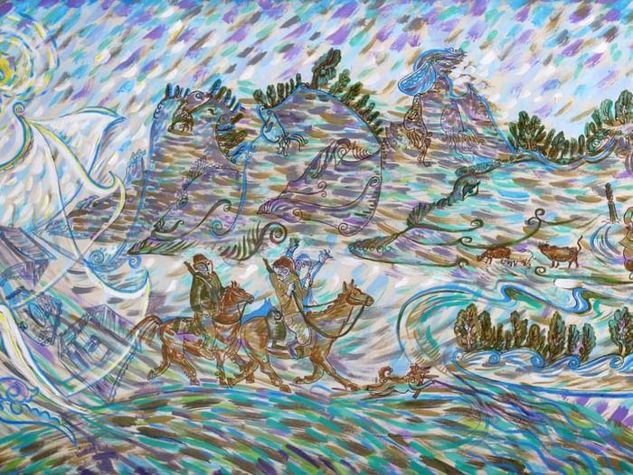 Выставка Анатолия Пашина «Хранитель судьбы»