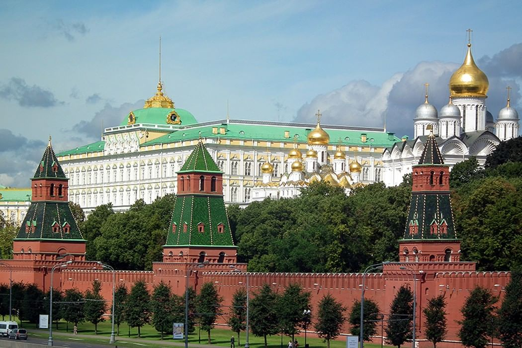 Виртуальные картинки московского кремля