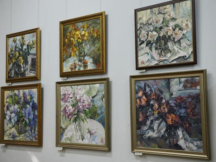 Выставка В. В. Ракчеева