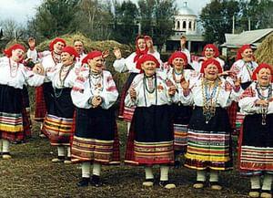 Троицкие обряды в селе Россошь Репьевского района Воронежской области