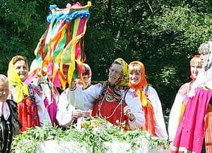 Обряд «крещения кукушки» села Вышние Пены Ракитянского района Белгородской области