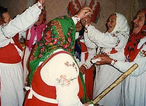 Духовская (троицкая) обрядность села Петрищево Духовщинского района Смоленской области