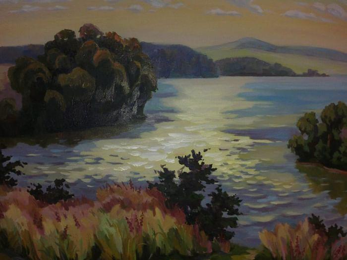 Выставка «Пейзажи Юрия Муругова»