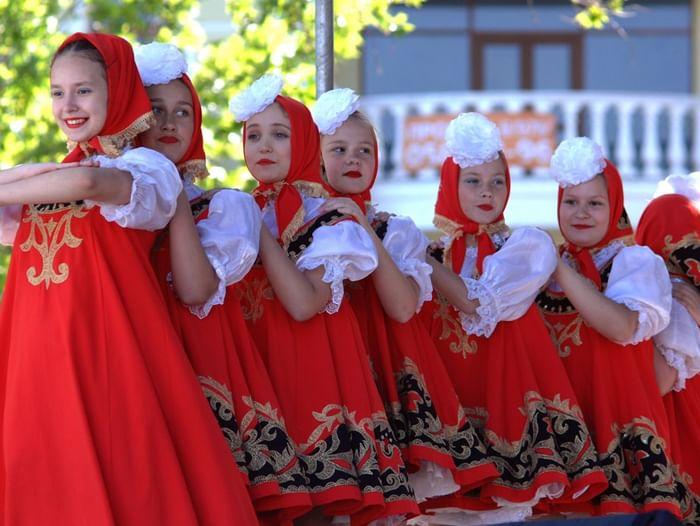 Фестиваль народного творчества «Душа России живет в Крыму»