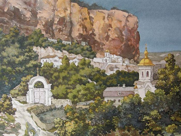Открытие выставки «Крымские краски»