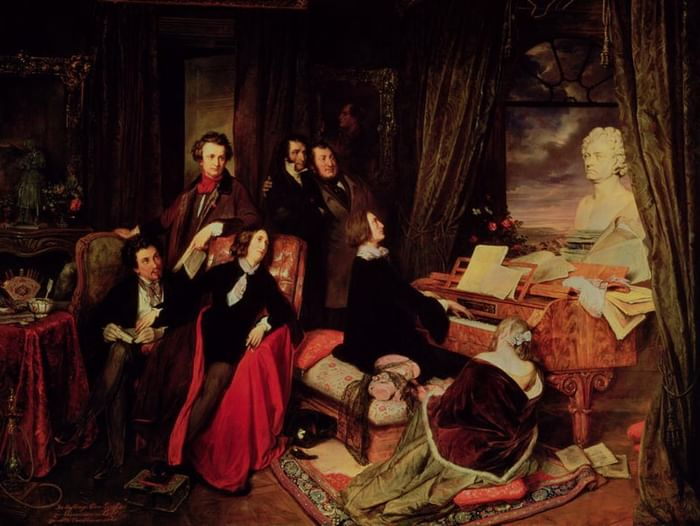 Концерт «Музыкальные истории великих романтиков»
