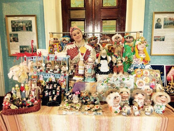 Выставка «Тряпичные куклы, волшебство из прошлого»