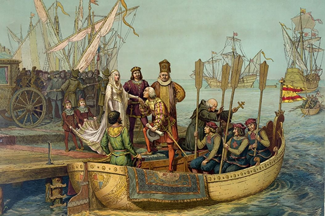 the ugly truth behind the expeditions of christopher columbus Christopher columbus stood to gain significant wealth and power from his voyage, terms he negotiated with king ferdinand and queen isabella of spain his contract with the monarchs, called the.