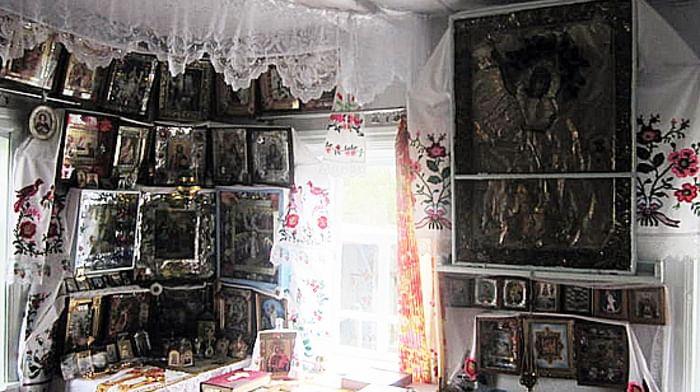 Народные моления в селе Курковичи Стародубского района Брянской области