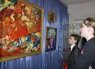Экспозиция «Субботин-Пермяк: Искусство даёт бодрость и радость!»