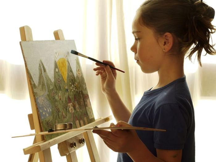 Мастер-класс «Пейзаж акриловыми красками»