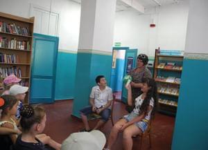 Библиотека с. Татарка
