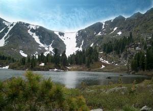 Алтайский заповедник: водопад Корбу иКаракольские озера