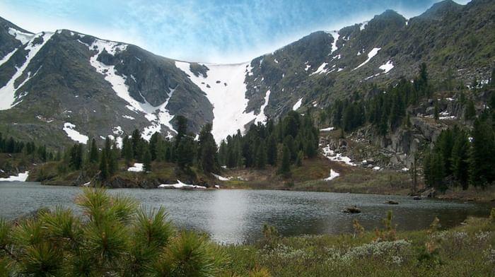 Алтайский заповедник: водопад Корбу и Каракольские озера