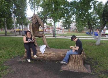 Летний читальный open air «Зеленая беседка»