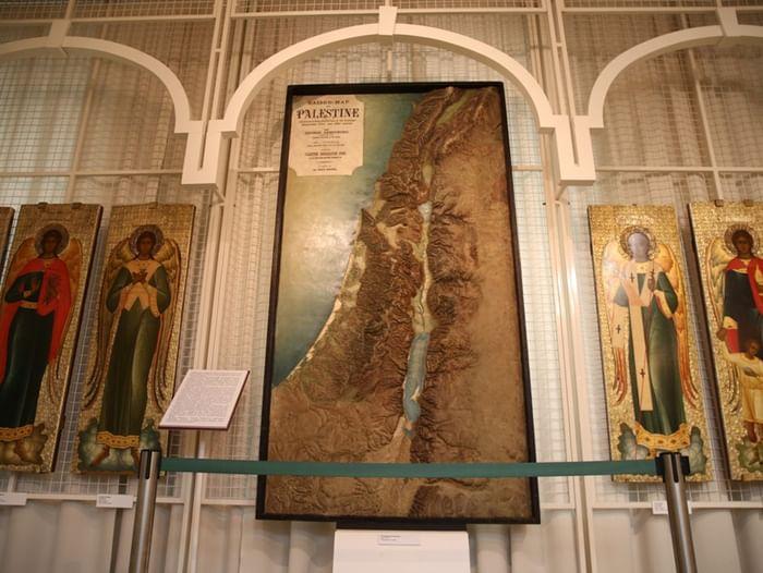 Выставка «Рельефная карта Палестины»