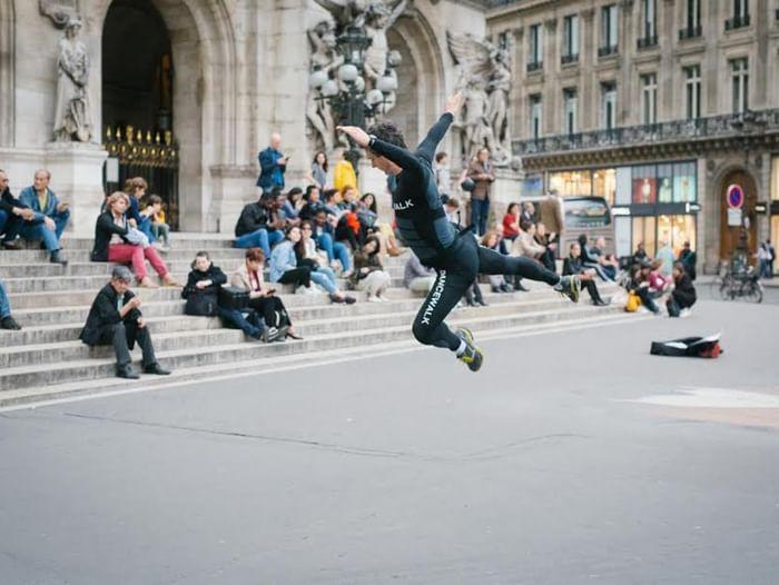 Танцевальная прогулка с компанией Неопост Фуфуа и образовательным проектом СОТА