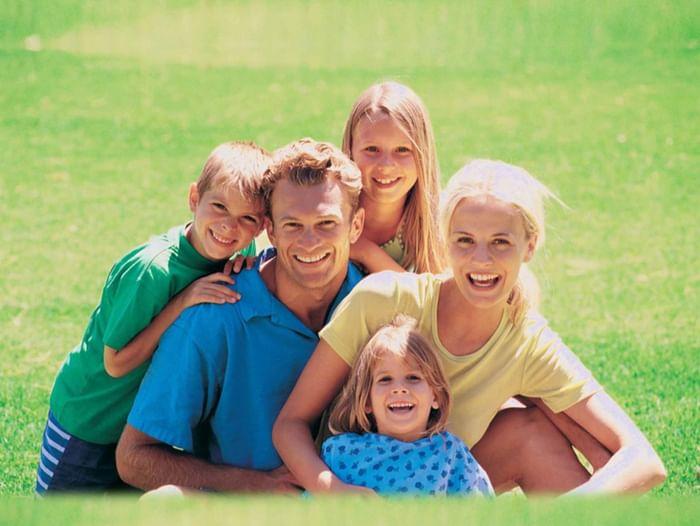 Праздничная программа «Семья в куче – не страшна и туча»
