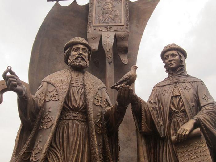 Информационная выставка «Святые Петр и Феврония»