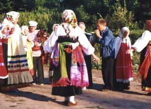 Музыкально-хореографическая форма «Тимоня» в традиции курско-белгородского пограничья
