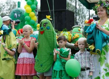 XVII Международный праздник огурца в Суздале