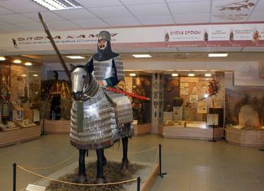 Экспозиция «Археология Омского Прииртышья»