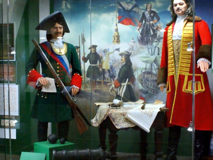 Историческая экспозиция «Сибирский град Петров»