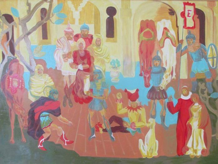 Персональная выставка Николая Мальцева «От всей души»