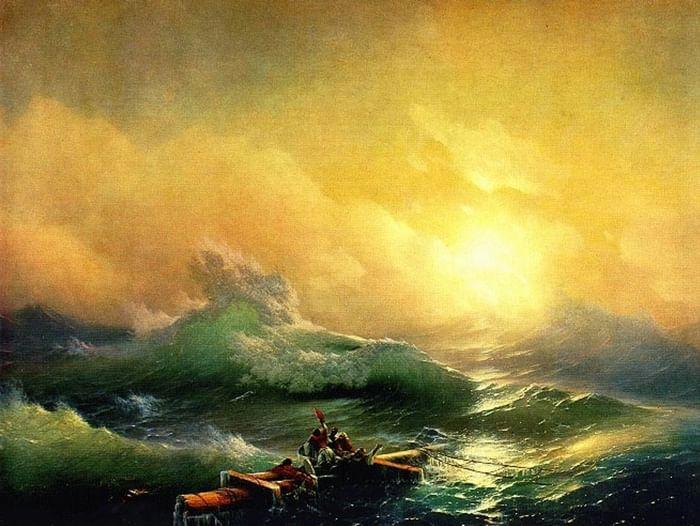 Видеовыставка-вернисаж «Певец моря»