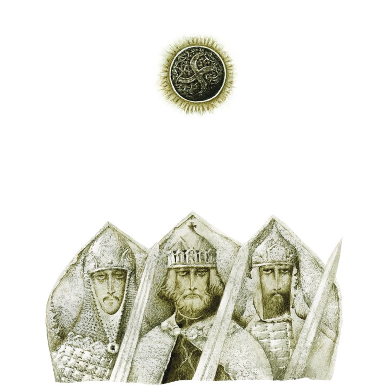 Павел Татарников. Иллюстрация к книге  «Слово о полку Игореве». 2013