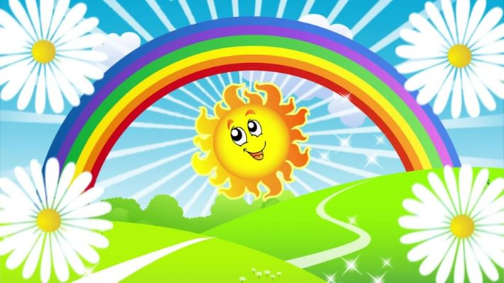 солнышко веселое картинки для детей