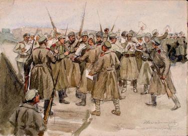 Выставочный проект «Год 1917-й. Революционный календарь»