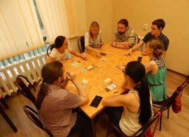 Встреча «Вечер настольных игр»