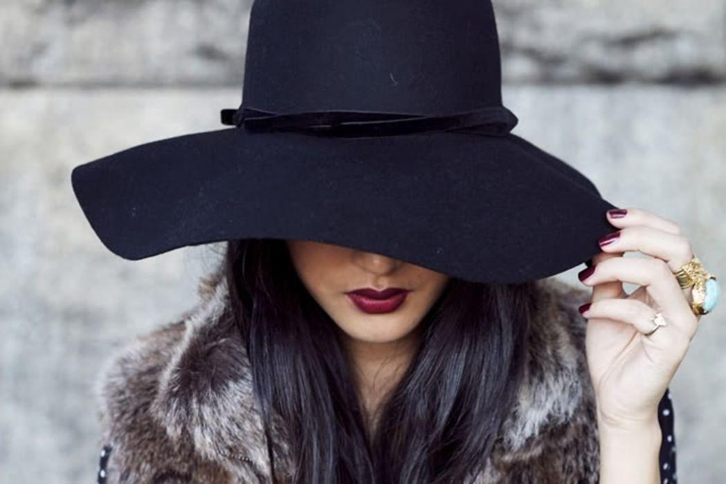 День повара, картинки дама в шляпе зимой