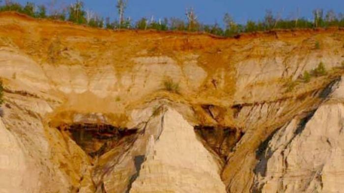 «Горящие горы» в Приамурье