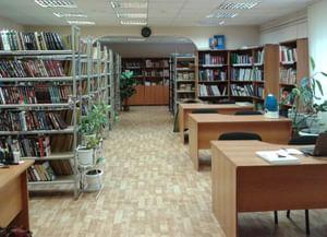 Библиотека п. Приозерный