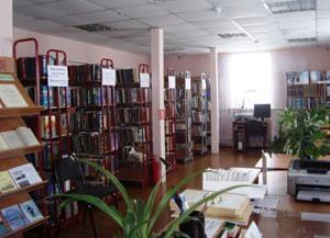 Библиотека-филиал № 2 д. Андег