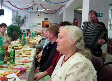 Встреча в клубе по интересам «Ветеран»